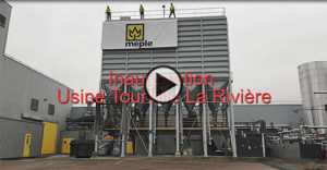 Vidéo de l'inauguration du site industriel IKO en Normandie